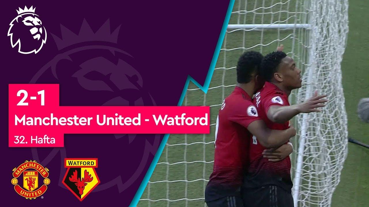 Manchester United - Watford (2-1) - Maç Özeti - Premier League 2018/19