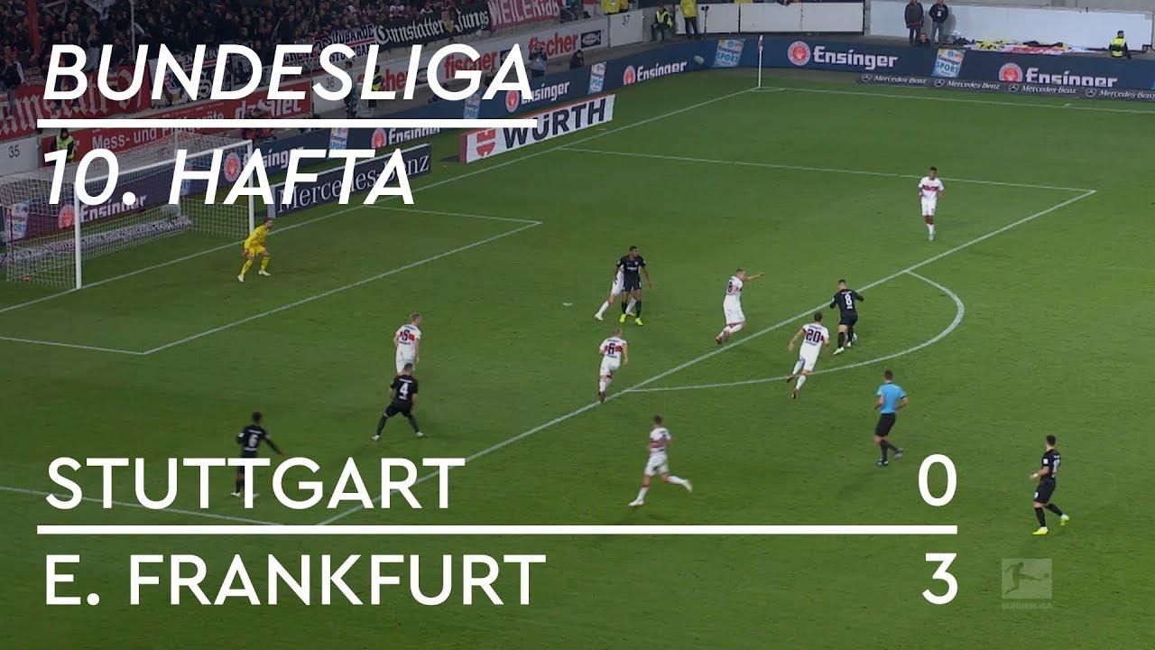 Stuttgart - Eintracht Frankfurt (0-3) - Maç Özeti - Bundesliga 2018/19
