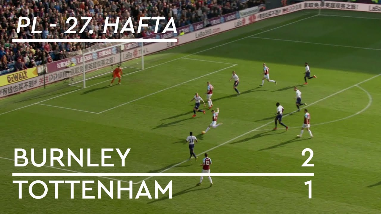 Burnley - Tottenham  (2-1) -  Maç Özeti - Premier League 2018/19
