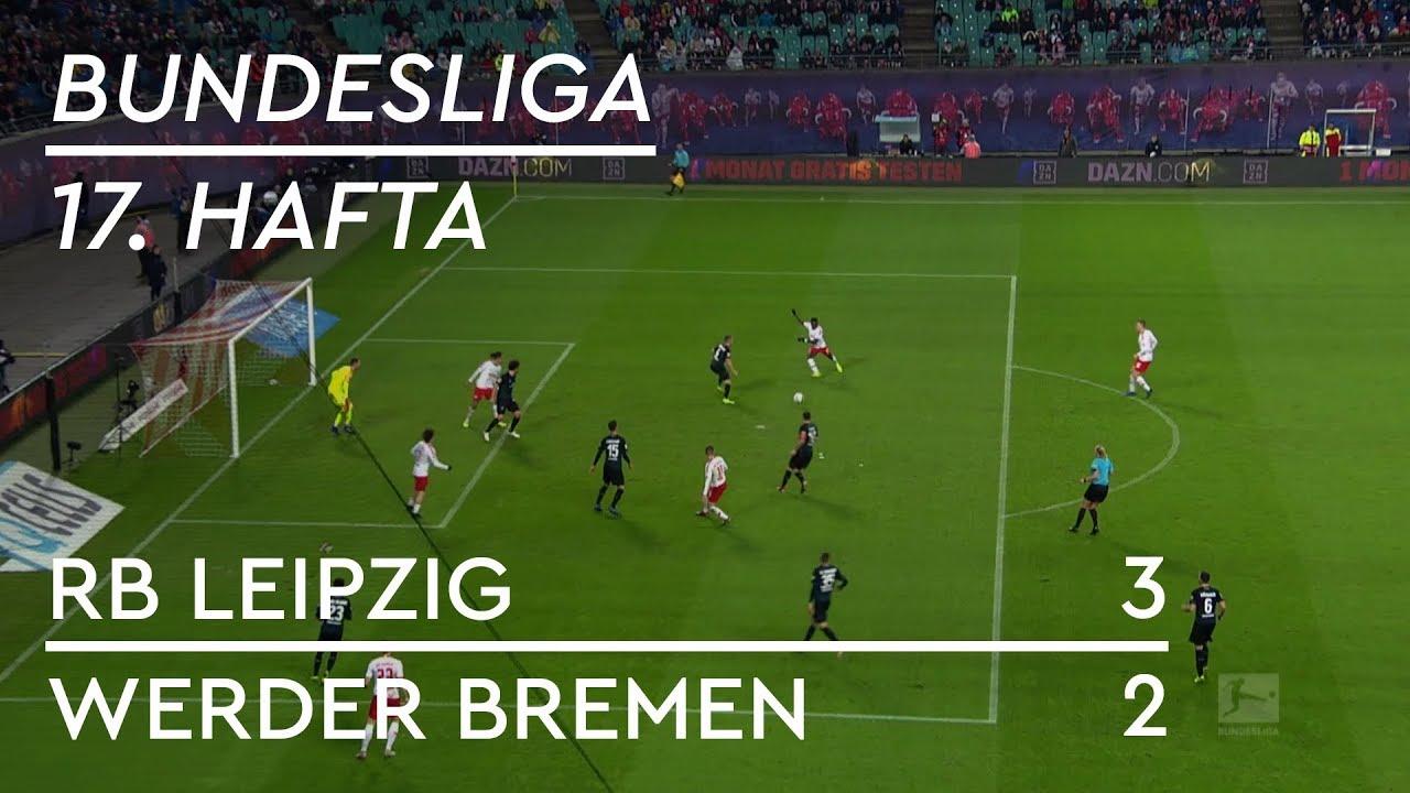 RB Leipzig - Werder Bremen (3-2) - Maç Özeti - Bundesliga 2018/19