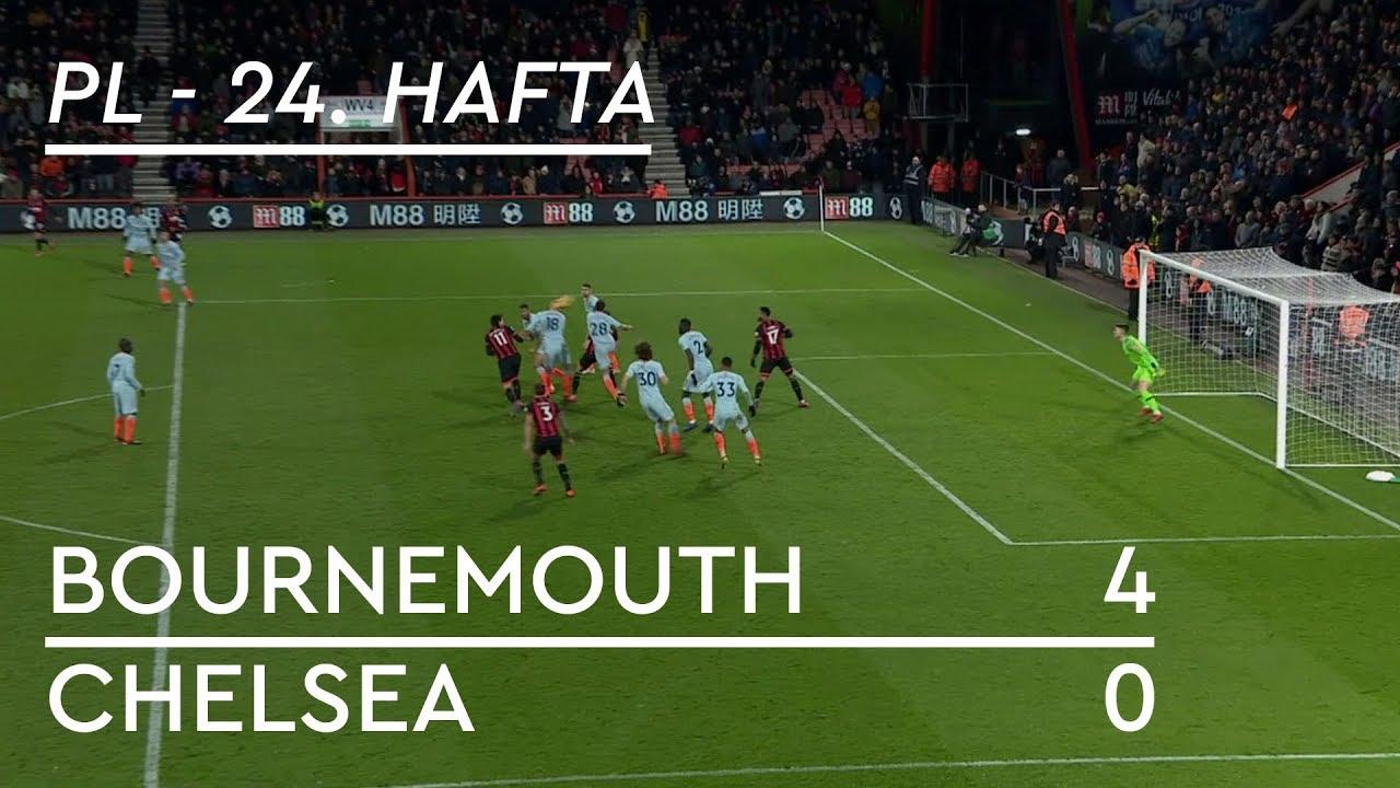 Bournemouth - Chelsea (4-0) - Maç Özeti - Premier League 2018/19