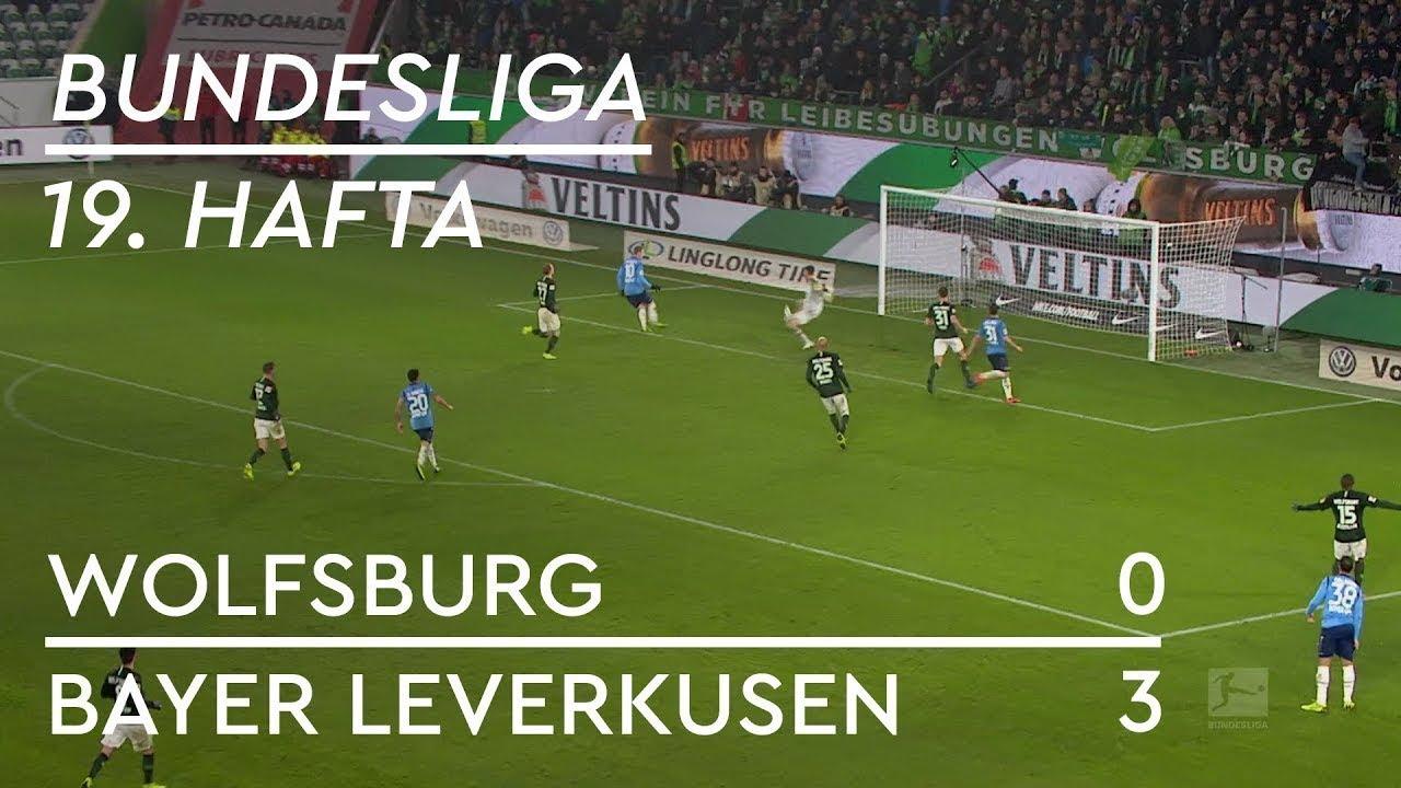 Wolfsburg - Bayer Leverkusen (0-3) - Maç Özeti - Bundesliga 2018/19 - Türkçe Anlatım