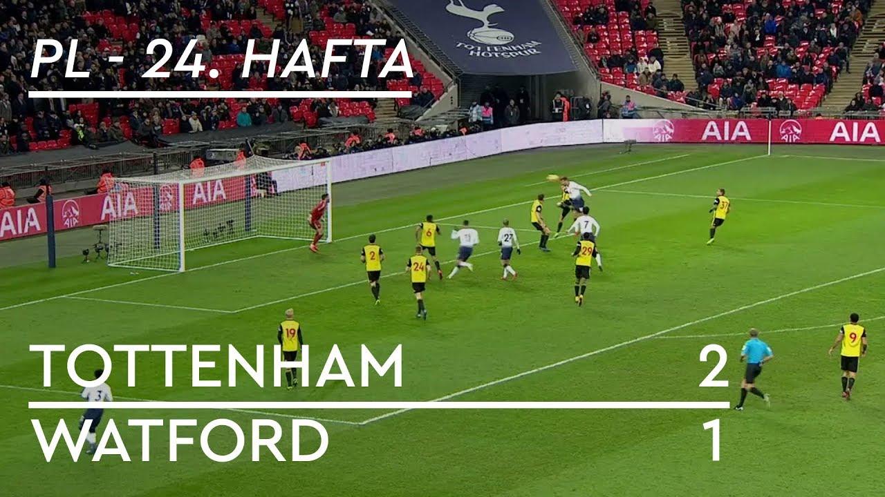 Tottenham - Watford (2-1) - Maç Özeti - Premier League 2018/19