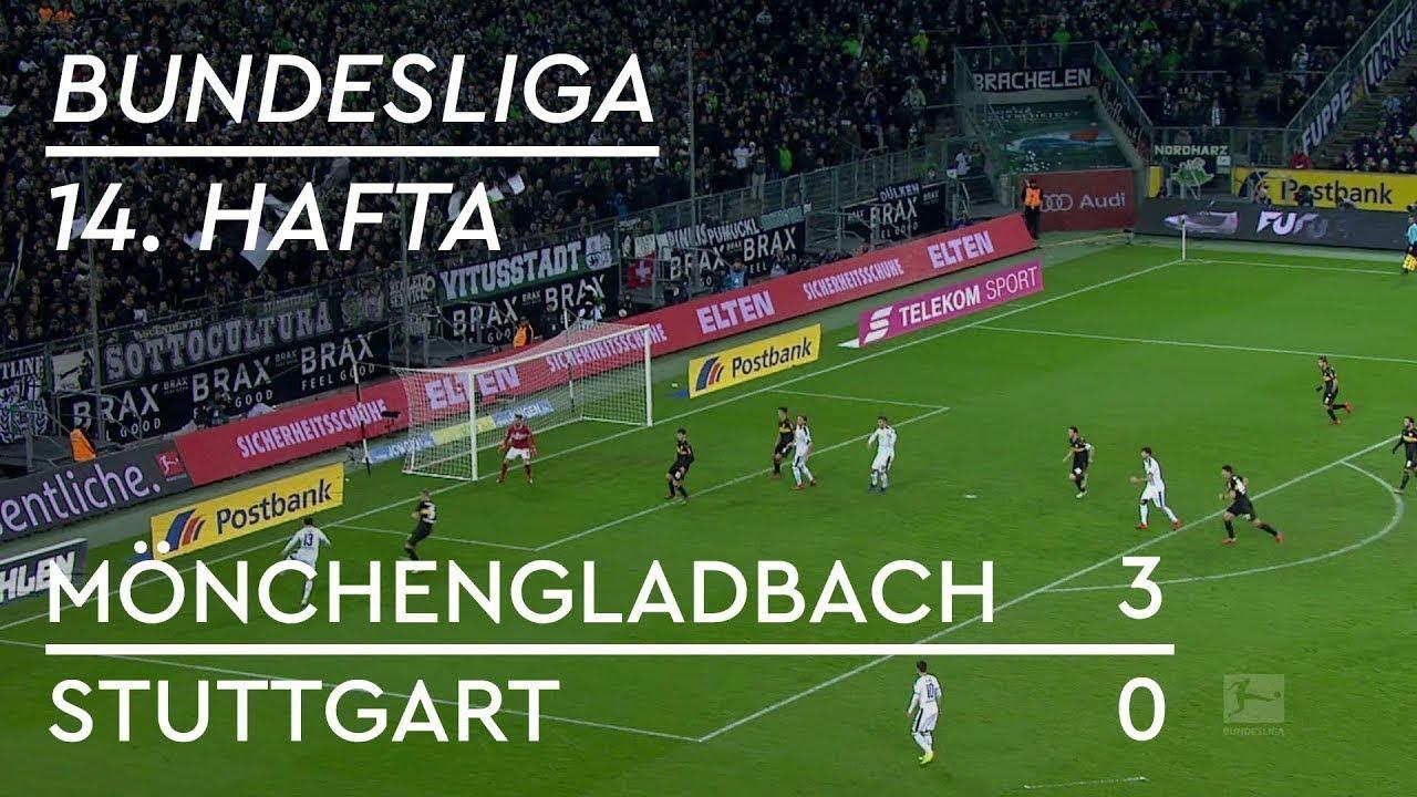 Mönchengladbach - Stuttgart (3-0) - Maç Özeti - Bundesliga 2018/19  - Türkçe Anlatım