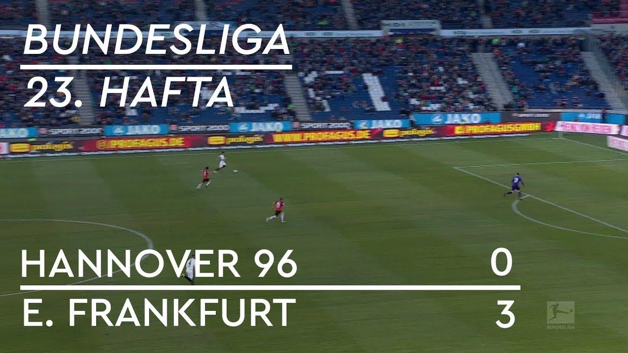 Hannover 96 - Eintracht Frankfurt (0-3) - Maç Özeti - Bundesliga 2018/19 - Türkçe Anlatım