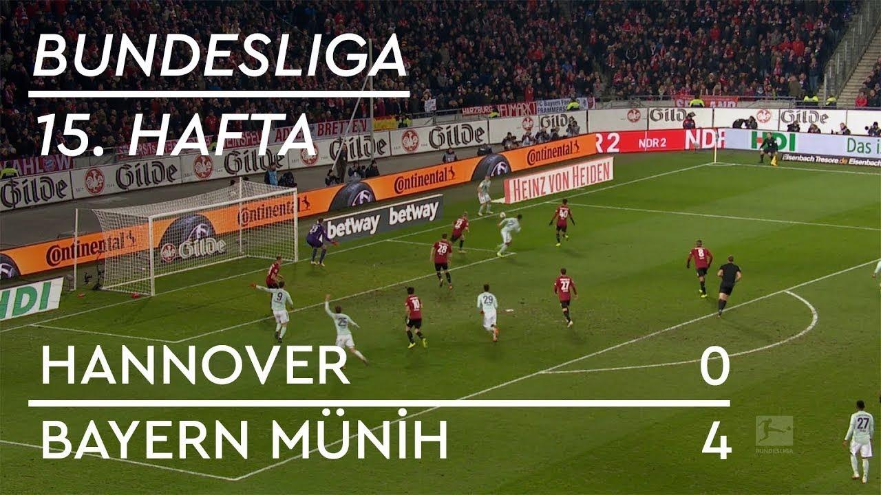 Hannover - Bayern Münih (0-4) - Maç Özeti - Bundesliga 2018/19 - Türkçe Anlatım