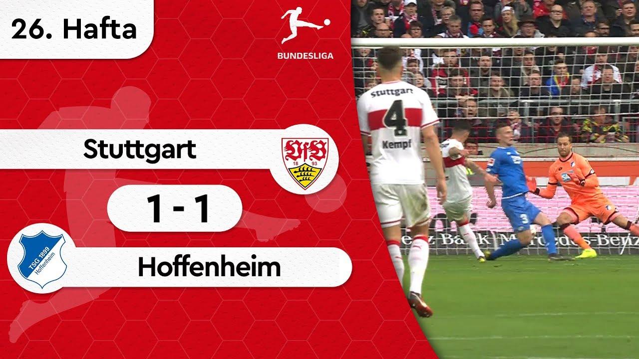 Stuttgart - Hoffenheim (1-1) - Maç Özeti - Bundesliga 2018/19