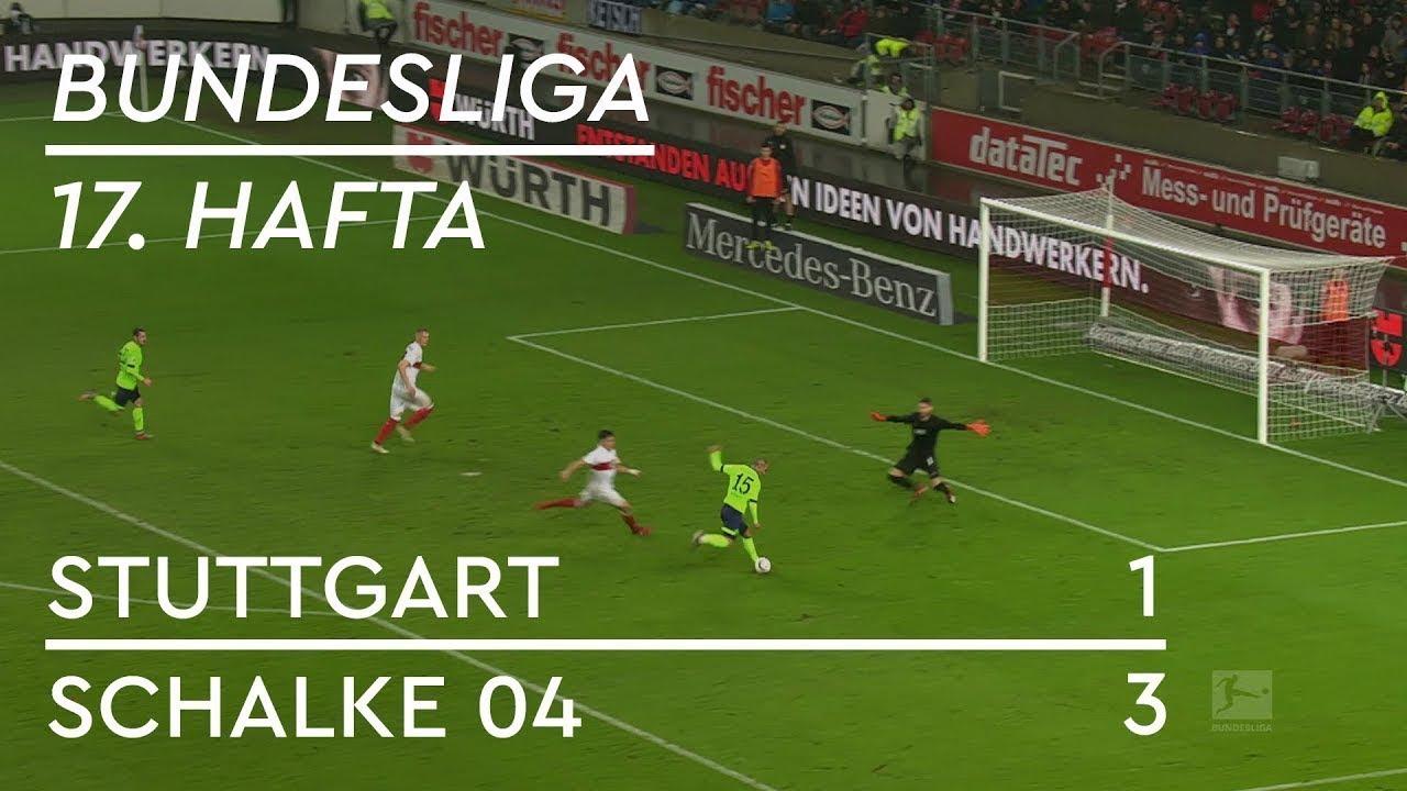 Stuttgart - Schalke 04 (1-3) - Maç Özeti - Bundesliga 2018/19 - Türkçe Anlatım