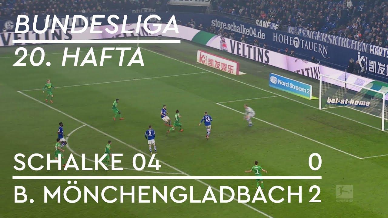 Schalke 04 - Borussia Mönchengladbach (0-2) - Maç Özeti - Bundesliga 2018/19