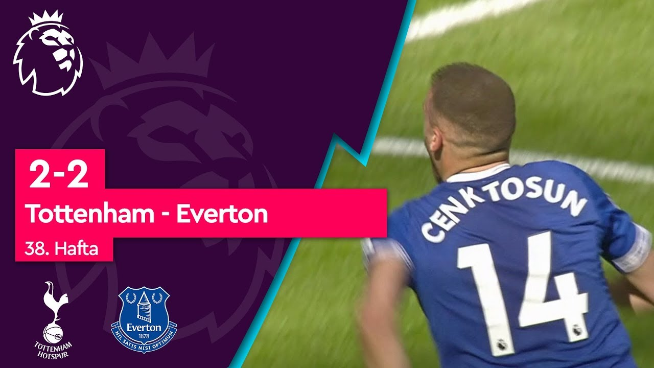 Tottenham - Everton (2-2) - Maç Özeti - Premier League 2018/19