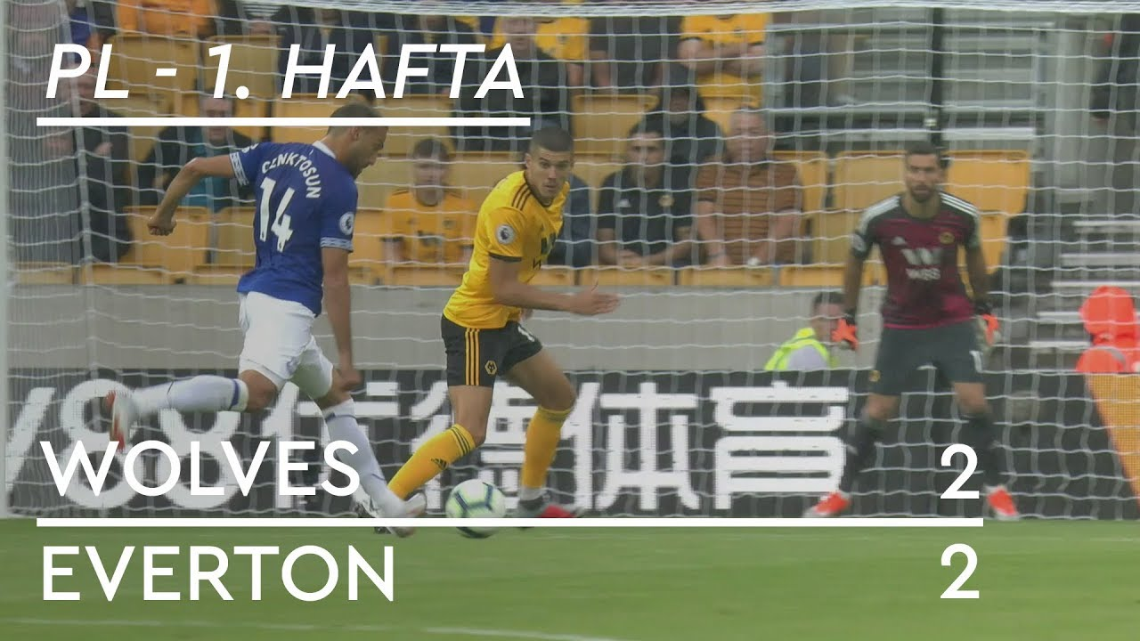 Wolves - Everton (2-2) - Maç Özeti - Premier League 2018/19
