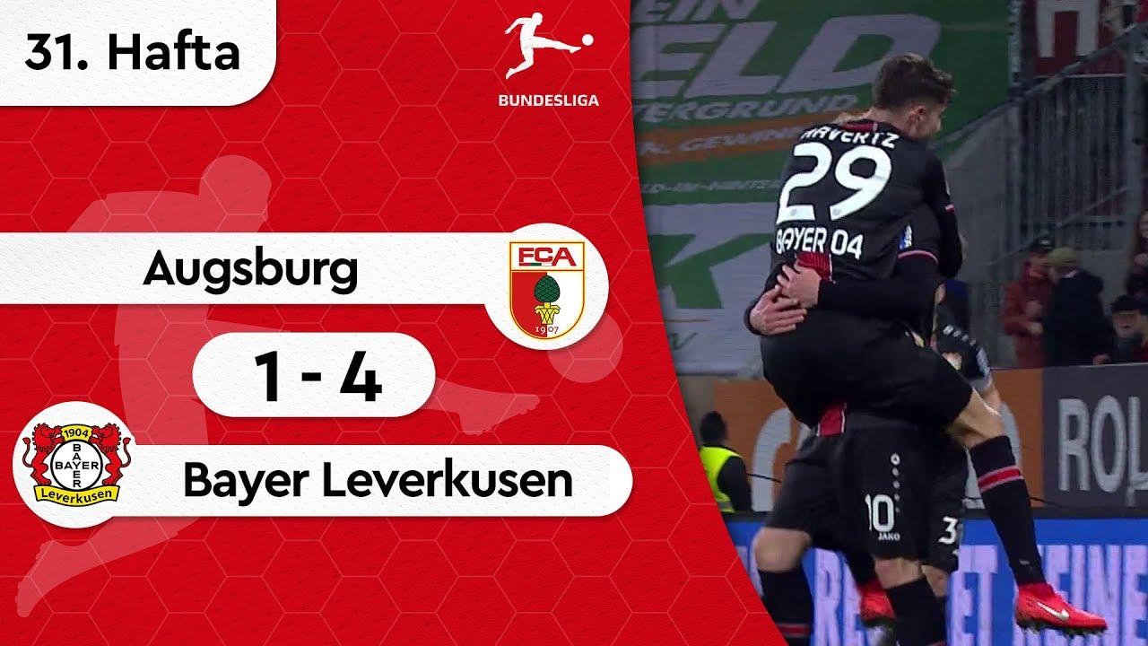 Augsburg - Bayer Leverkusen (1-4) - Maç Özeti - Bundesliga 2018/19