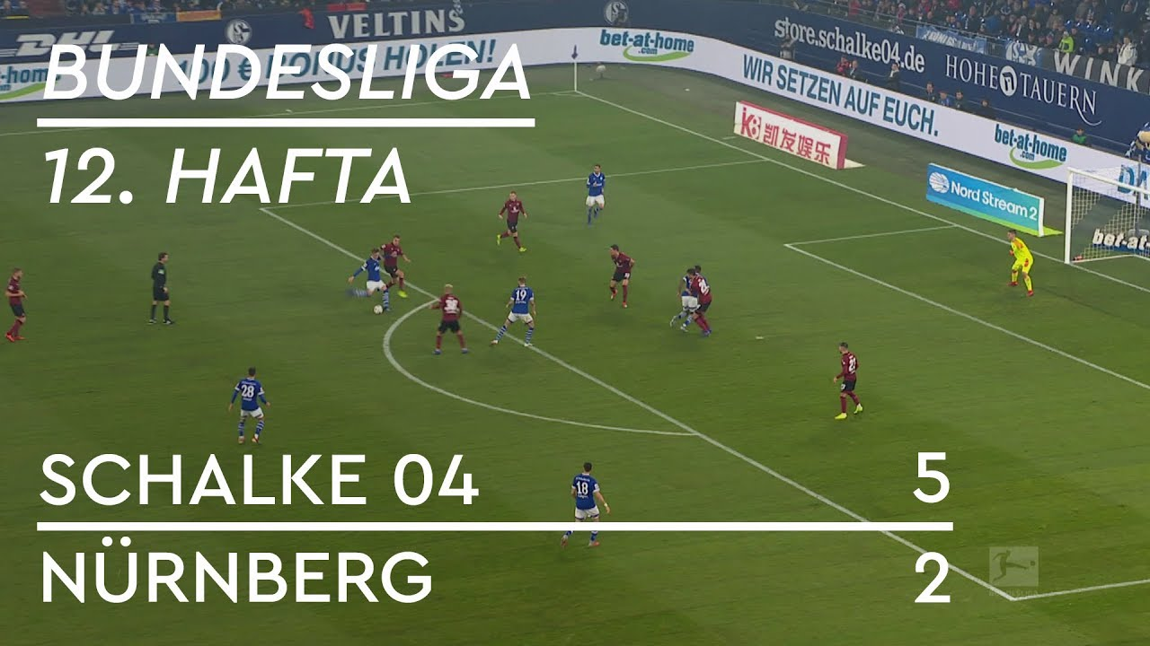 Schalke 04 - Nürnberg (5-2) - Maç Özeti - Bundesliga 2018/19