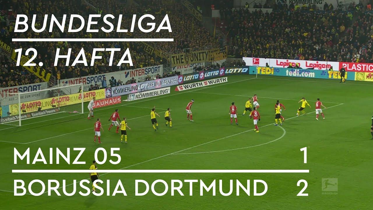 Mainz 05 - Borussia Dortmund (1-2) - Maç Özeti - Bundesliga 2018/19