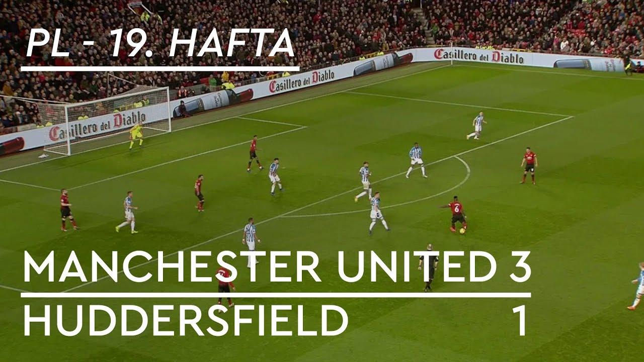Manchester United - Huddersfield (3-1) - Maç Özeti - Premier League 2018/19
