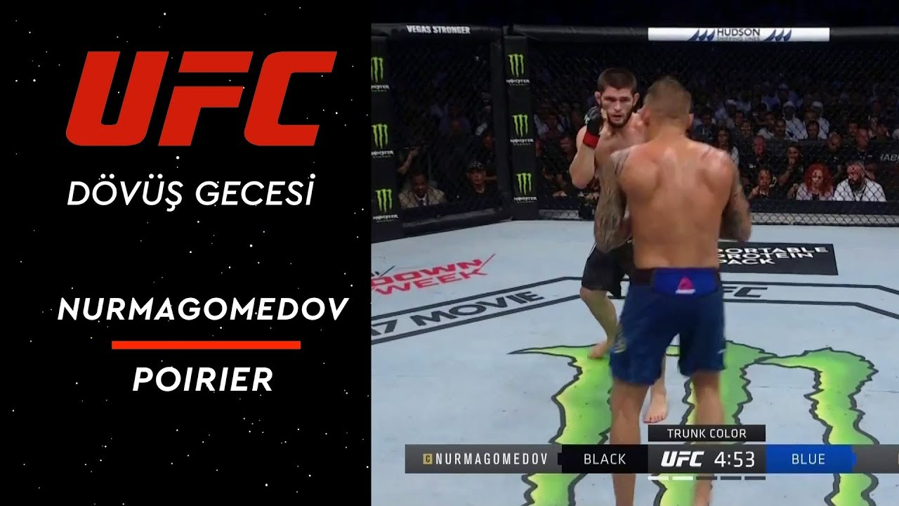 UFC 242 | Khabib Nurmagomedov vs Dustin Poirier | Öne Çıkan Anlar - 2