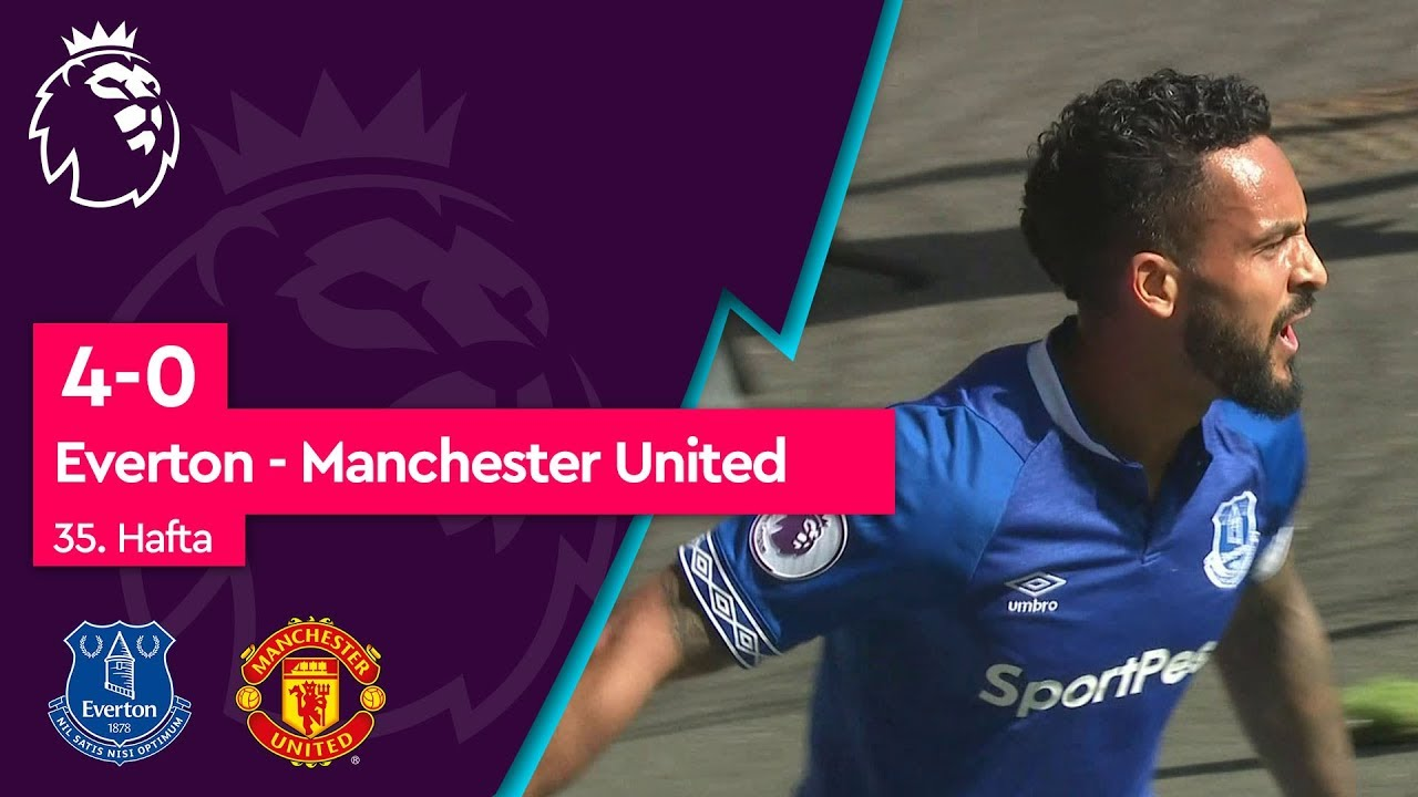Everton - Manchester United (4-0) - Maç Özeti - Premier League 2018/19