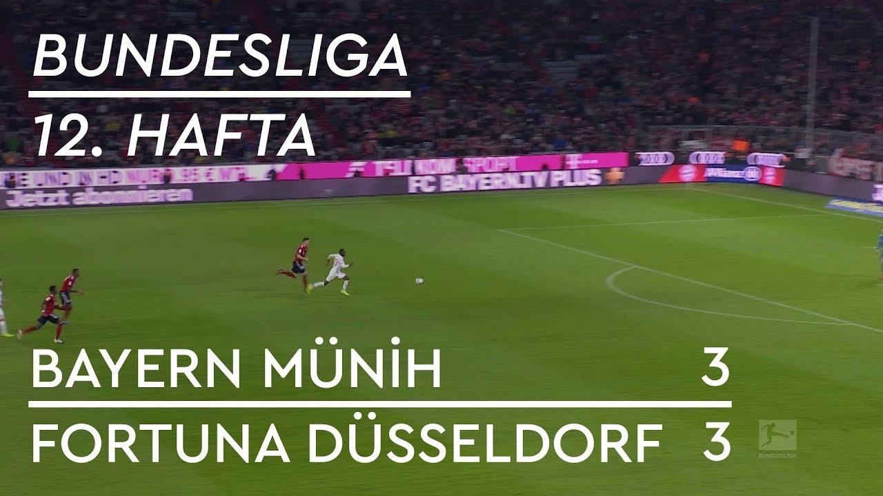 Bayern Münih - Fortuna Düsseldorf (3-3) - Maç Özeti - Bundesliga 2018/19
