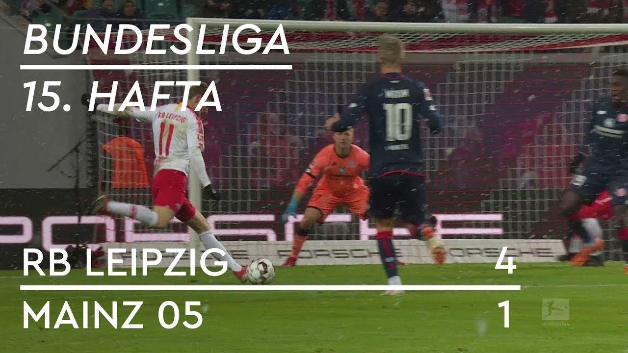 RB Leipzig - Mainz 05 (4-1) - Maç Özeti - Bundesliga 2018/19 - Türkçe Anlatım