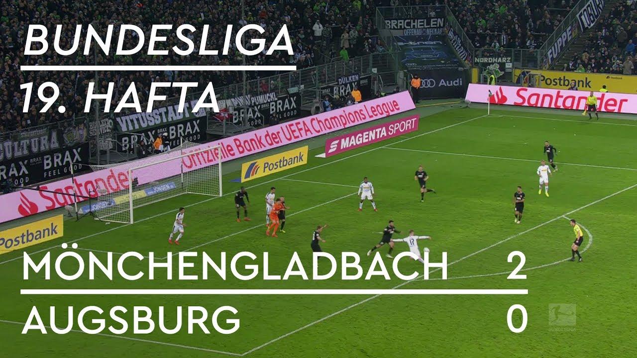 Borussia Mönchengladbach - Augsburg (2-0) - Maç Özeti - Bundesliga 2018/19