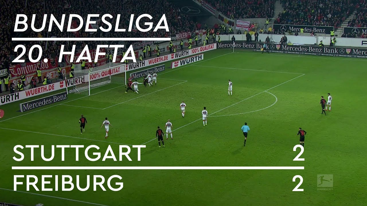 Stuttgart - Freiburg (2-2) - Maç Özeti - Bundesliga 2018/19