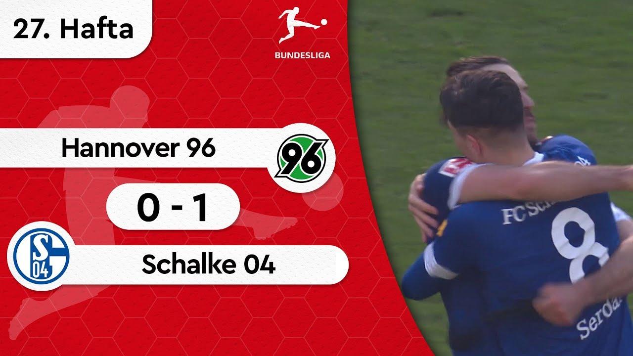 Hannover 96 - Schalke 04 (0-1) - Maç Özeti - Bundesliga 2018/19