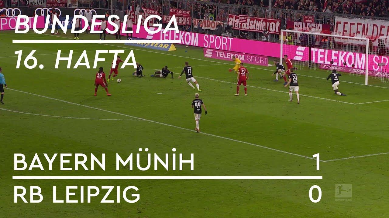 Bayern Münih - RB Leipzig (1-0) - Maç Özeti - Bundesliga 2018/19