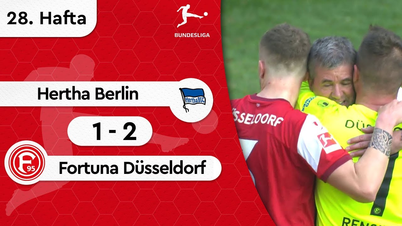 Hertha Berlin - Fortuna Düsseldorf (1-2) - Maç Özeti - Bundesliga 2018/19