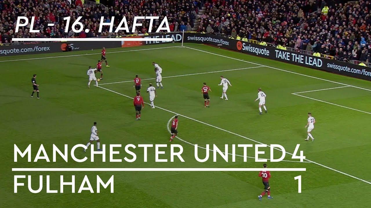 Manchester United - Fulham (4-1) - Maç Özeti - Premier League 2018/19