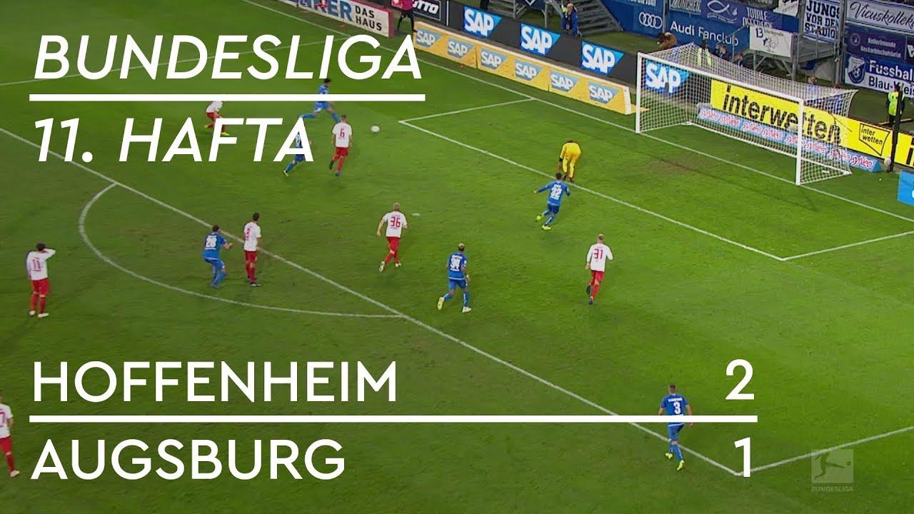 Hoffenheim - Augsburg (2-1) - Maç Özeti - Bundesliga 2018/19