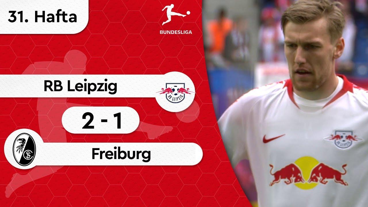 RB Leipzig - Freiburg (2-1) - Maç Özeti - Bundesliga 2018/19