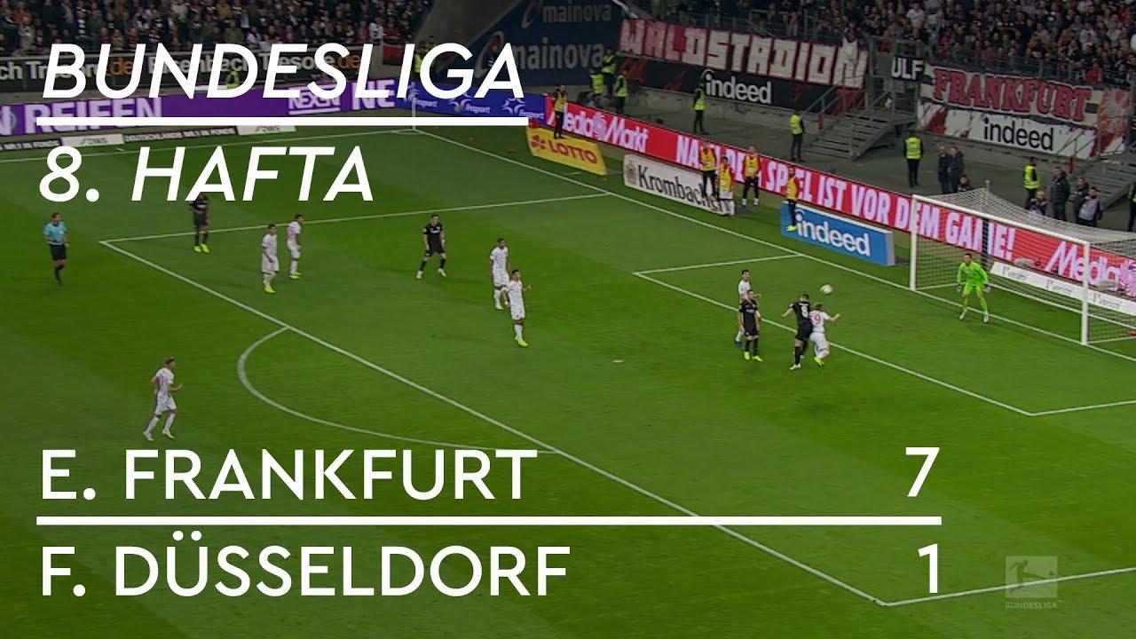 Eintracht Frankfurt - Fortuna Düsseldorf (7-1) - Maç Özeti - Bundesliga 2018/19