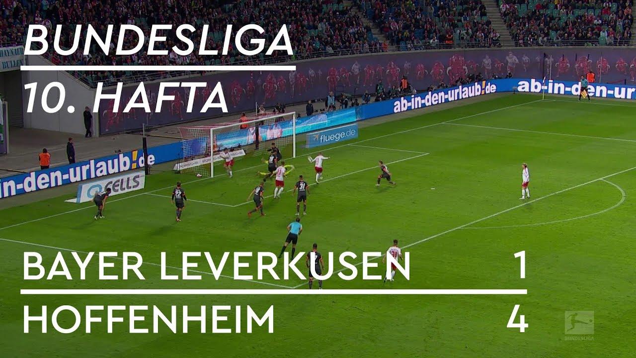 Bayer Leverkusen - Hoffenheim (1-4) - Maç Özeti - Bundesliga 2018/19
