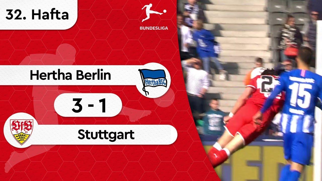Hertha Berlin - Stuttgart (3-1) - Maç Özeti - Bundesliga 2018/19