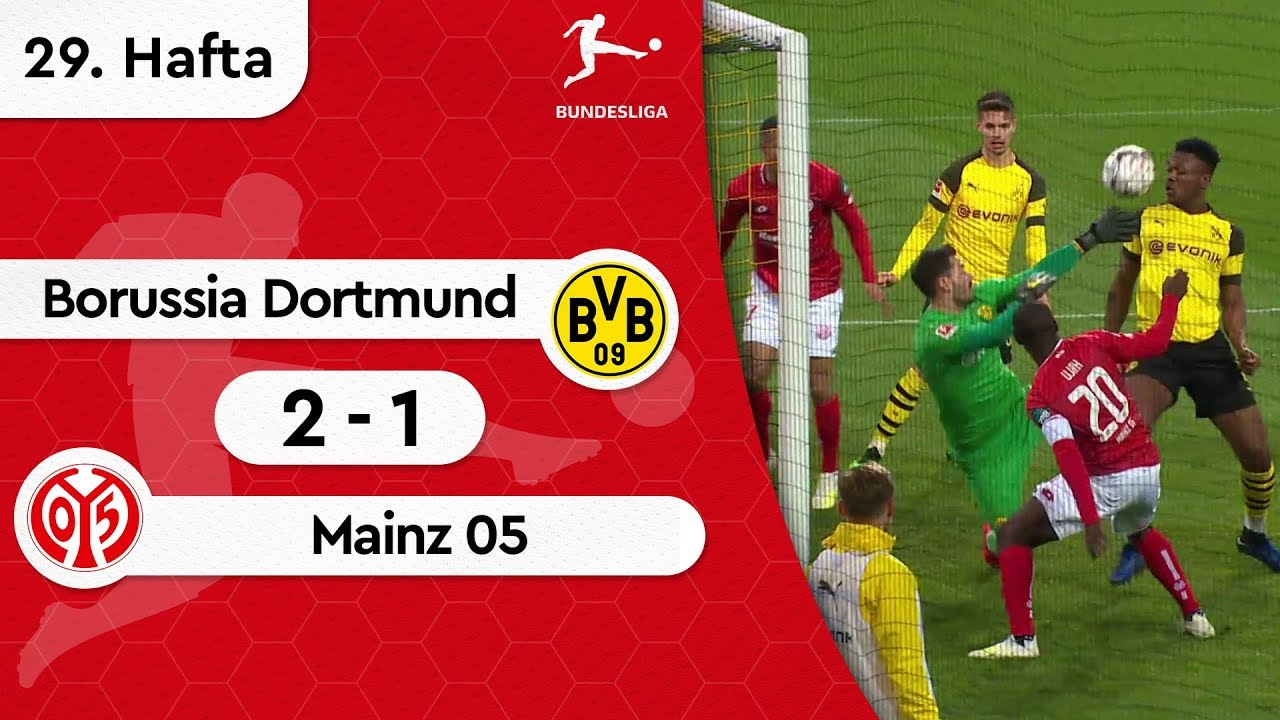 Borussia Dortmund - Mainz 05 (2-1) - Maç Özeti - Bundesliga 2018/19