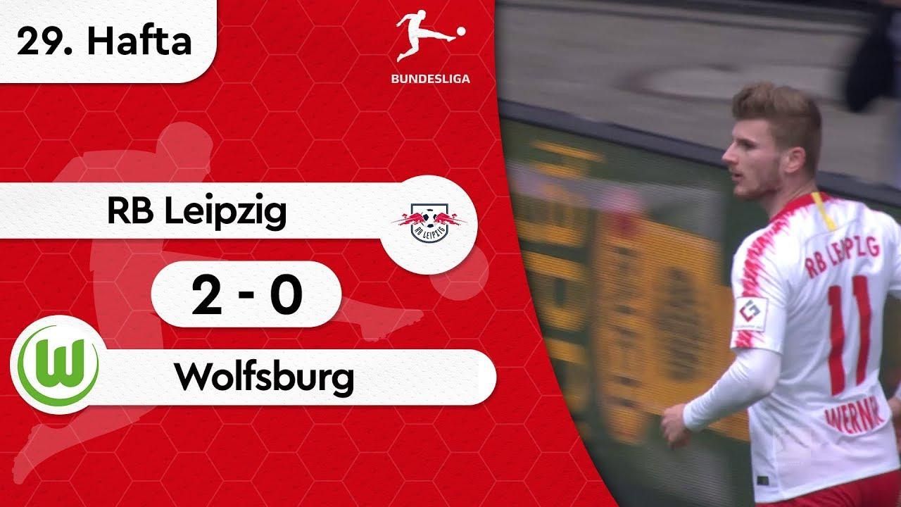 RB Leipzig - Wolfsburg (2-0) - Maç Özeti - Bundesliga 2018/19
