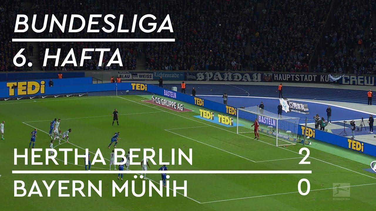 Hertha Berlin - Bayern Münih (2-0) - Maç Özeti - Bundesliga 2018/19