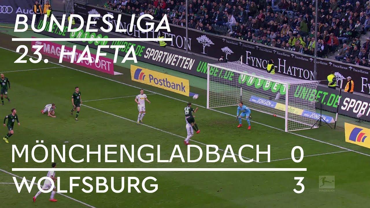 Borussia Mönchengladbach - Wolfsburg (0-3) - Maç Özeti - Bundesliga 2018/19