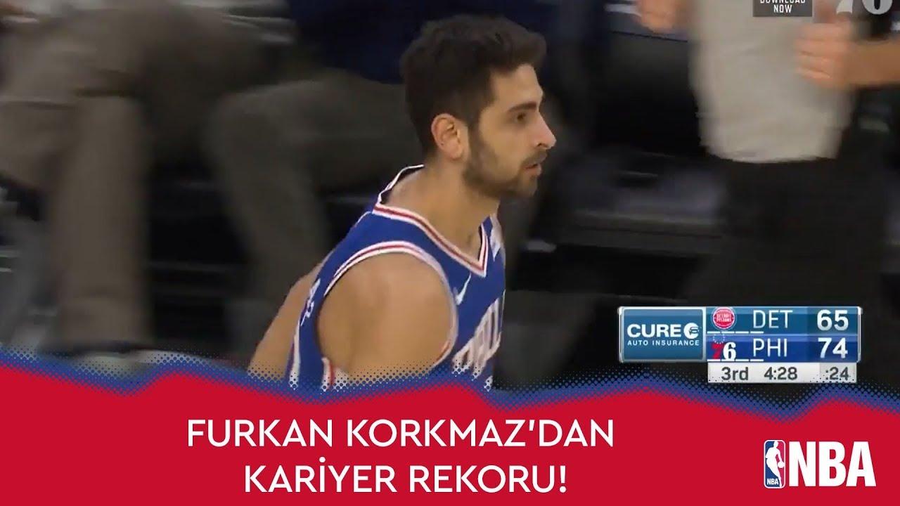 Furkan Korkmaz'dan Kariyer Rekoru!