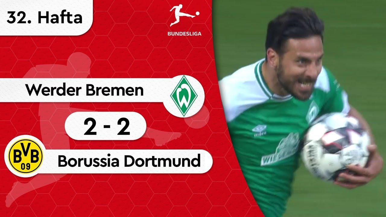 Werder Bremen - Borussia Dortmund (2-2) - Maç Özeti - Bundesliga 2018/19