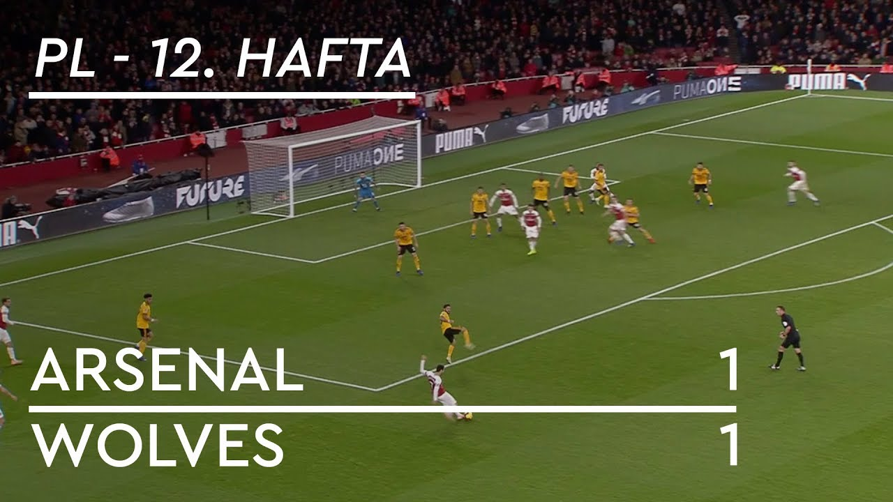 Arsenal - Wolves (1-1) - Maç Özeti - Premier League 2018/19