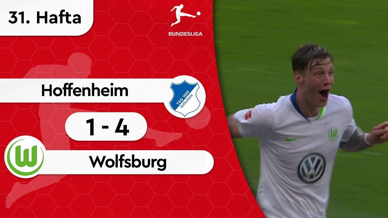 Hoffenheim - Wolfsburg (1-4) - Maç Özeti - Bundesliga 2018/19