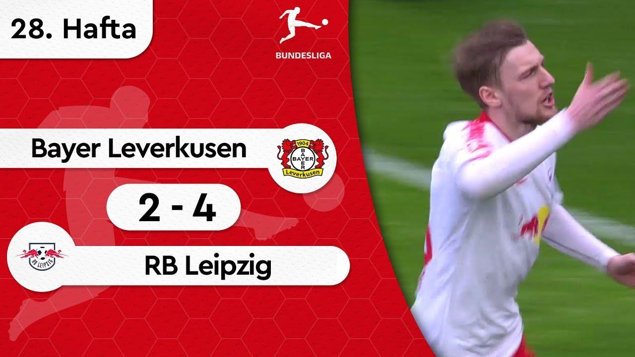 Bayer Leverkusen - RB Leipzig (2-4) - Maç Özeti - Bundesliga 2018/19