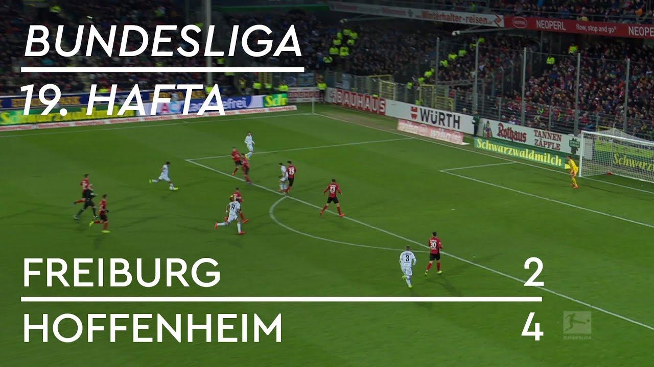 Freiburg - Hoffenheim (2-4) - Maç Özeti - Bundesliga 2018/19
