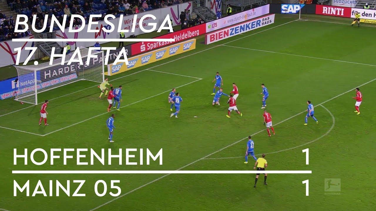 Hoffenheim - Mainz 05 (1-1) - Maç Özeti - Bundesliga 2018/19