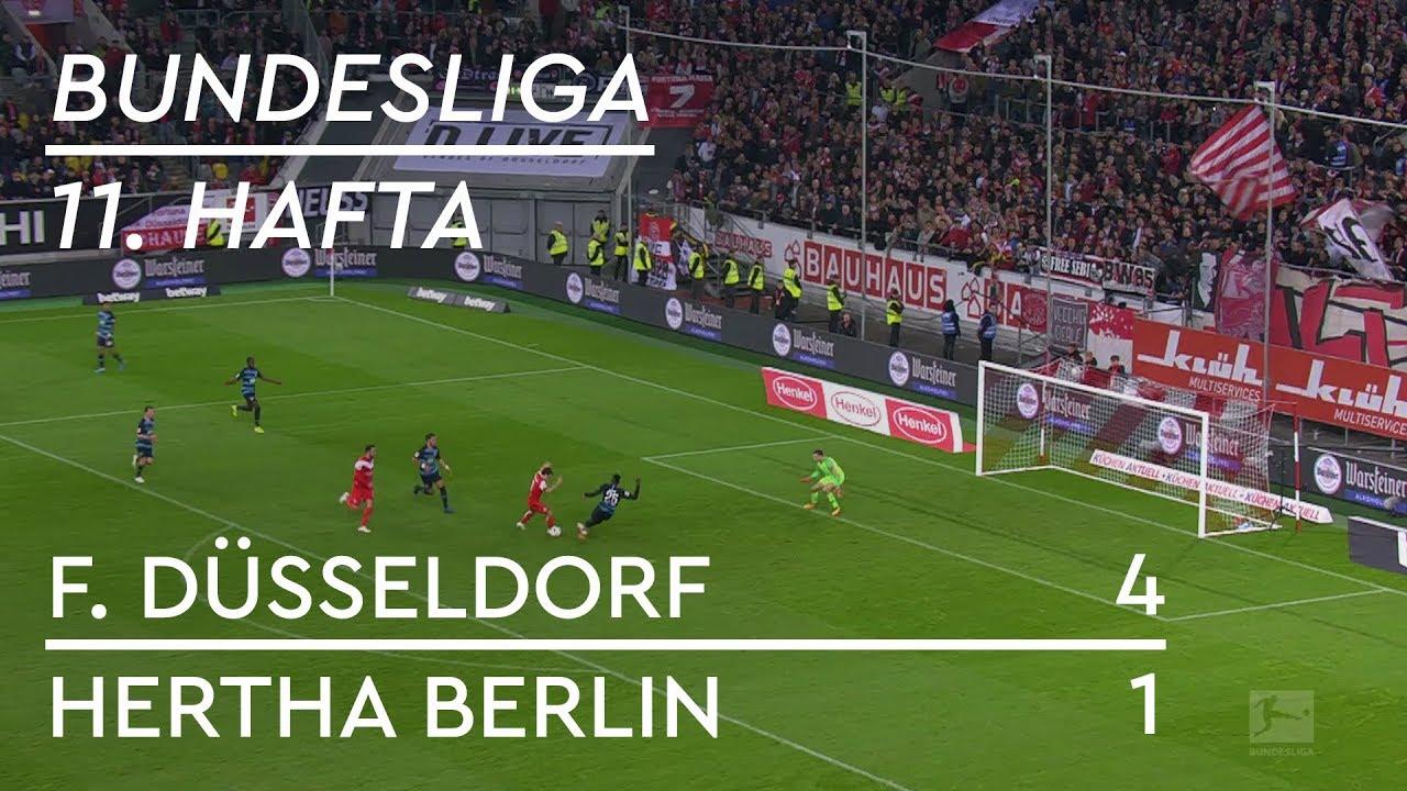 Fortuna Düsseldorf - Hertha Berlin (4-1) - Maç Özeti - Bundesliga 2018/19