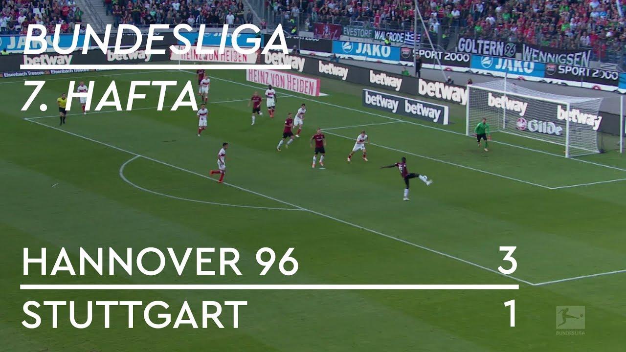 Hannover 96 - Stuttgart (3-1) - Maç Özeti - Bundesliga 2018/19
