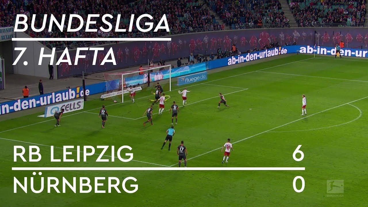 RB Leipzig - Nürnberg (6-0) - Maç Özeti - Bundesliga 2018/19