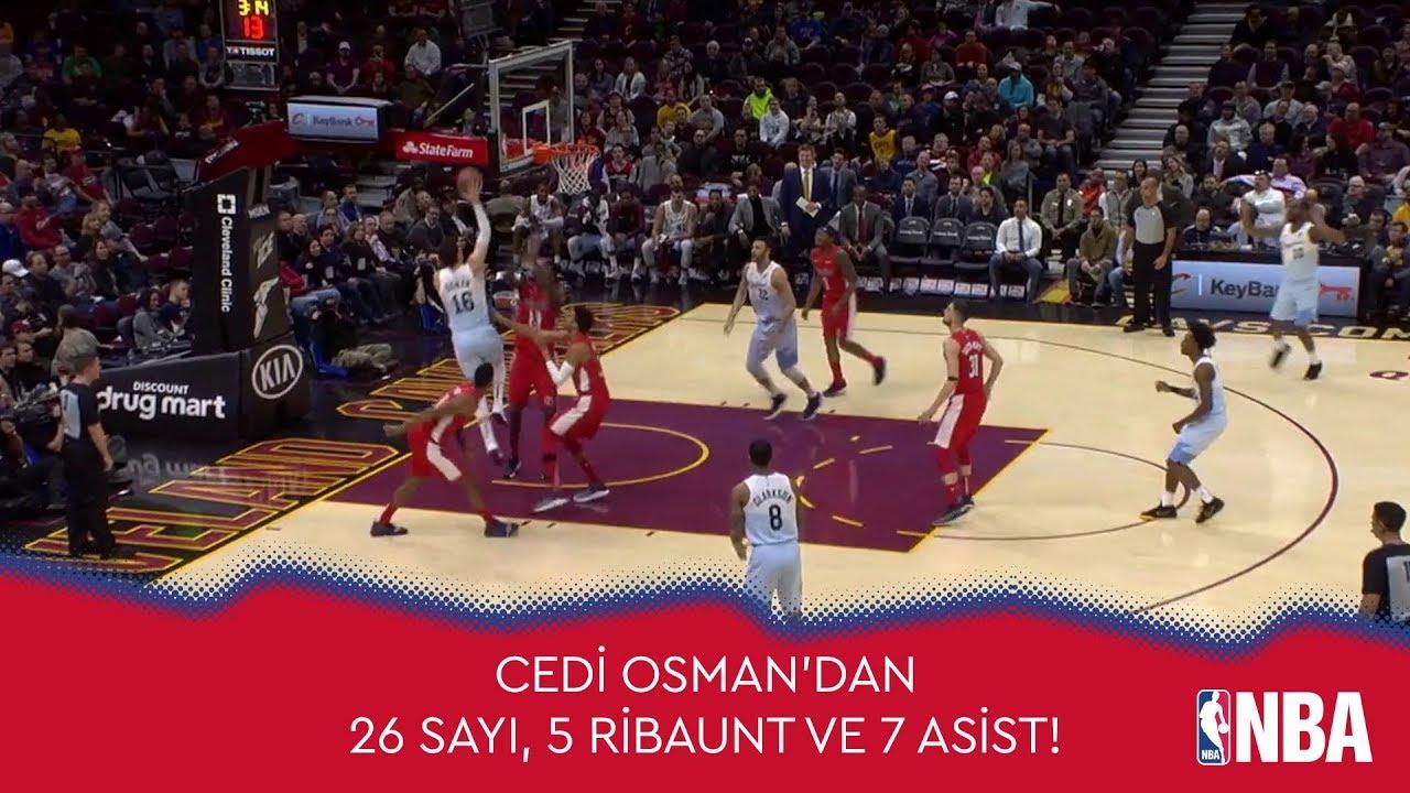 Cedi Osman'dan 26 Sayı, 5 Ribaunt ve 7 Asist!