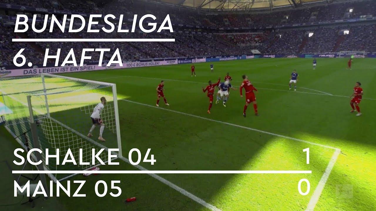 Schalke 04 - Mainz 05 (1-0) - Maç Özeti - Bundesliga 2018/19